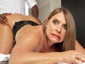 Mom anal fuck